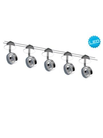 Näve LED-plafondlamp zilverkleurig - energieklasse A