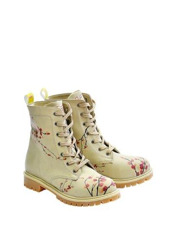Goby Boots in Beige/ Bunt