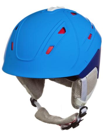 """Uvex Kask narciarski """"p2us"""" w kolorze błękitno-niebieskim"""