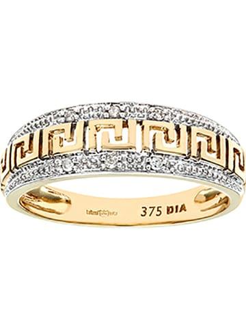 Revoni Gold-Ring mit Diamanten