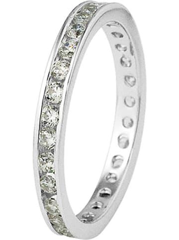 Wishlist Zilveren ring met edelstenen