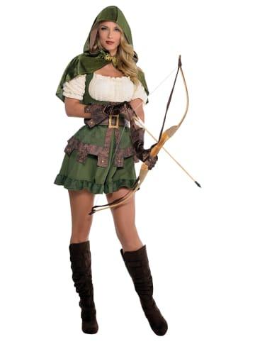 Amscan 4-częściowy kostium amscan w kolorze zielonym