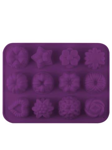 "Dr. Oetker Siliconen vorm ""FlexxLove"" violet - (L)21 x (B)16 cm"