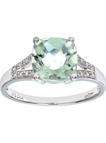 Revoni Witgouden ring met diamanten