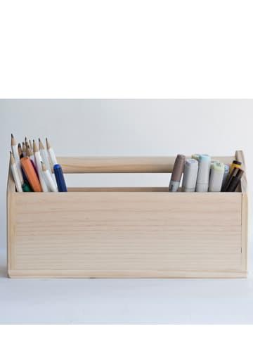 "Really Nice Things Bureau-organizer ""Kids"" naturel - (B)24 x (H)14,5 x (D)14 cm"
