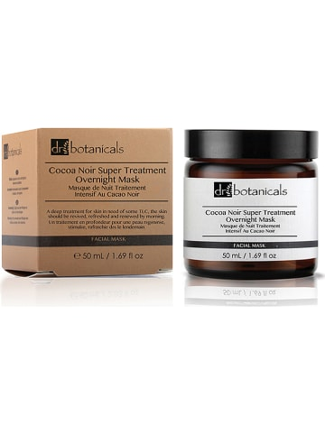 "Dr Botanicals Gesichtsmaske ""Cocoa Noir Super Treatment"", 50 ml"
