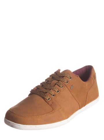 """Boxfresh Skórzane sneakersy """"Spencer"""" w kolorze jasnobrązowym"""