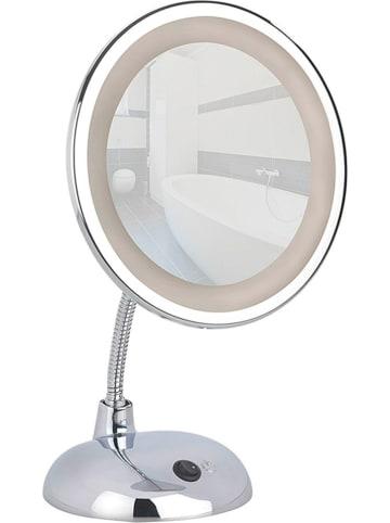 """Wenko LED-Kosmetikspiegel """"Style"""" in Chrom - (B)17,5 x (H)28 x (T)12 cm"""