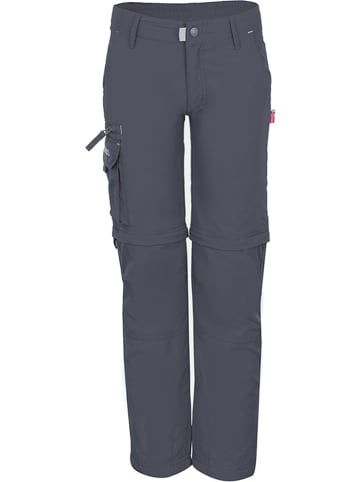 """Trollkids Spodnie funkcyjne """"Oppland"""" - Slim fit - w kolorze antracytowym"""