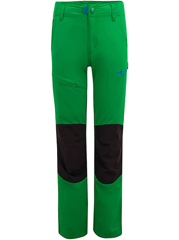 """Trollkids Spodnie trekkingowe """"Hammerfest"""" - Slim fit - w kolorze zielonym"""
