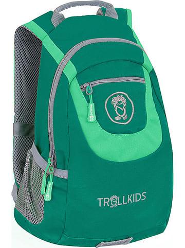 "Trollkids Plecak ""Trollhavn S"" w kolorze zielonym - 22 x 33 x 13 cm"