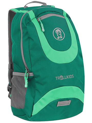 "Trollkids Plecak ""Trollhavn L"" w kolorze zielonym - 30 x 44 x 16 cm"