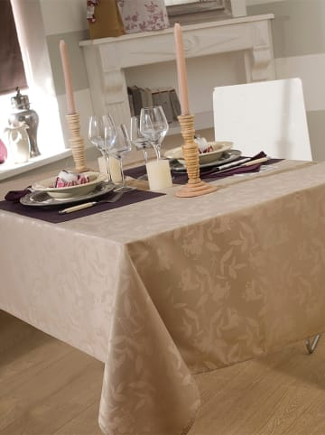 """Calitex Tischdecke """"Ombra"""" in Taupe"""