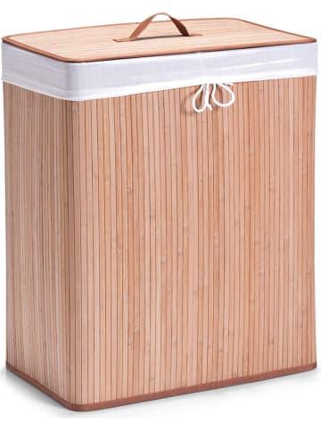 Zeller Kosz w kolorze beżowym na pranie - (S)52 x (W)63 x (G)32 cm