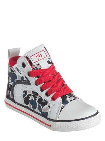 "Primigi Sneakers ""College"" in Weiß/ Rot/ Bunt"