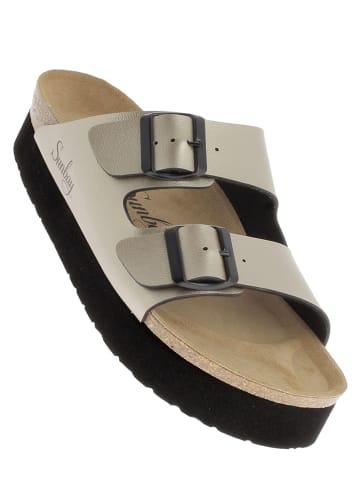 Sunbay Slippers bronskleurig