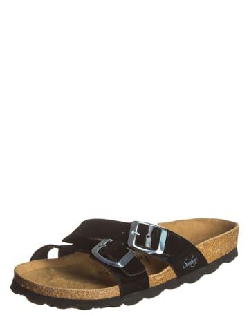 "Sunbay Slippers ""Bambou"" zwart"