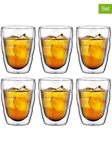 """Bodum 6-delige set: isoleerglazen """"Pilatus"""" - 250 ml"""