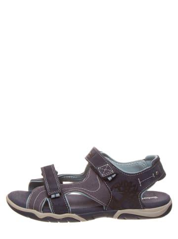 """Timberland Leren sandalen """"Park Hopper 2"""" donkerblauw"""