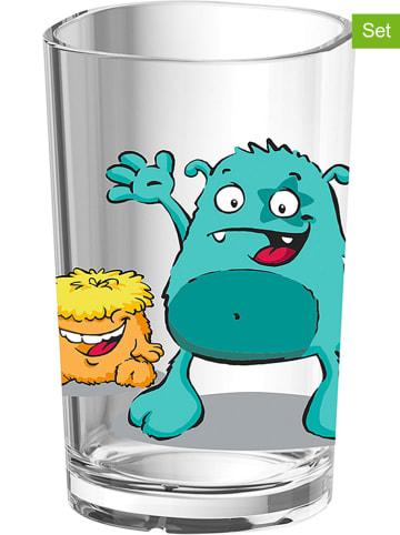 """Emsa 2-delige set: bekers """"Monster"""" - 200 ml"""