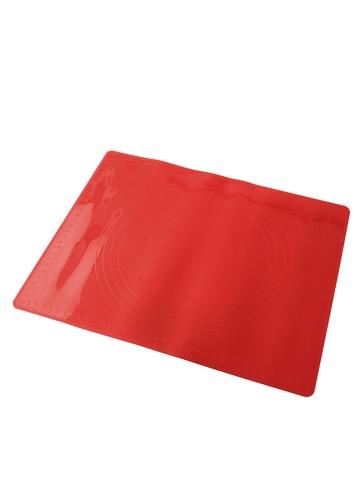 "Dr. Oetker Silikon-Backmatte ""Flexxible Love"" in Rot - (B)38 x (T)30 cm"