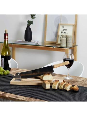 COOK CONCEPT Krajalnica w kolorze beżowym do chleba - 37,5 x 10 cm