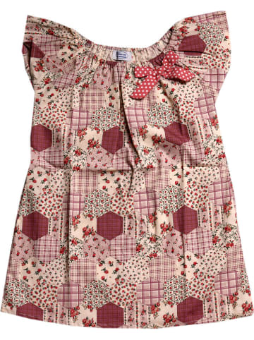 Deux ans de vacances Sukienka w kolorze fioletowym ze wzorem