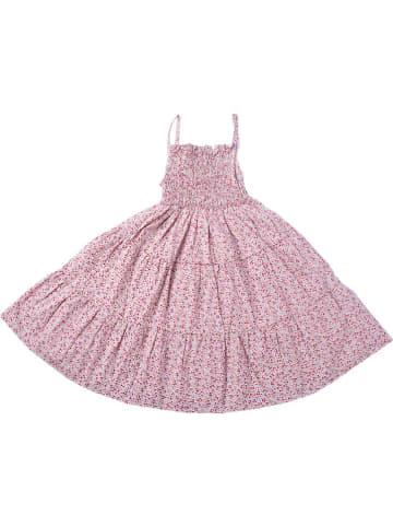 Deux ans de vacances Sukienka w kolorze różowym