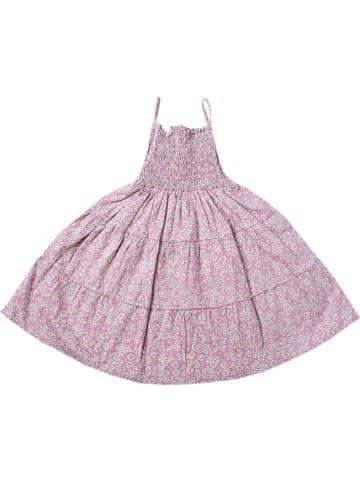 Deux ans de vacances Sukienka w kolorze jasnoróżowo-kremowym
