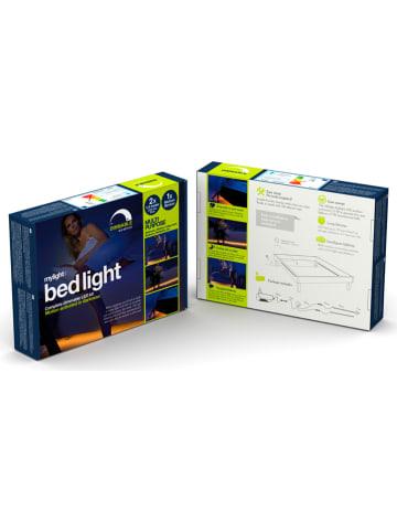 Bed light Ledbedlicht met 1 bewegingsmelder energieklasse A+ (A++ tot A) - 2x 1,5 m