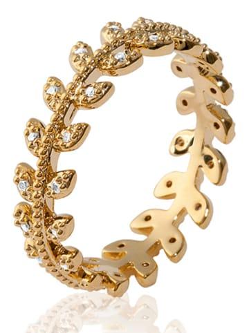 Lucette Pozłacany pierścionek