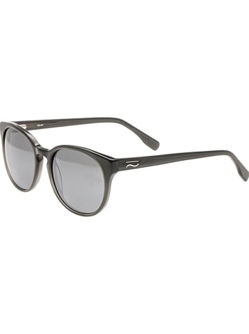 """Simplify Okulary przeciwsłoneczne unisex """"Clark"""" w kolorze szaro-srebrnym"""