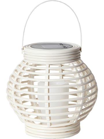 """Best Season LED-Solarleuchte """"Lantern"""" in Weiß - (H)16 cm"""