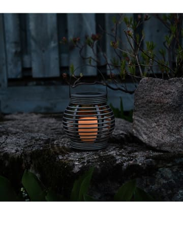 "Best Season LED-Solarleuchte ""Lantern"" in Grau - (H)16 cm"