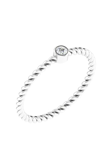 Royal Diamant Witgouden ring met diamant
