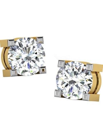 Diamant Vendôme Gold-Ohrstecker mit Diamanten