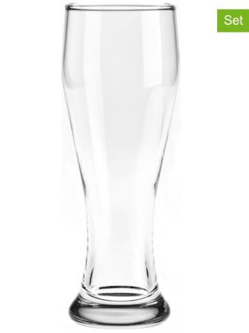 "LEONARDO 2-delige set: bierglazen ""Basic"" - 500 ml"