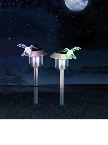 Globo lighting Ledsolartuinsteker met kleurwisselfunctie - (H)46,5 cm