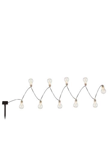 Globo lighting Ledsolarguirlande transparant - (L)380 cm