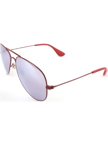 Ray Ban Dameszonnebril rood/paars