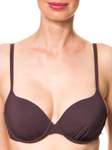 Marc O´Polo Beachwear Biustonosz bikini w kolorze ciemnofioletowym