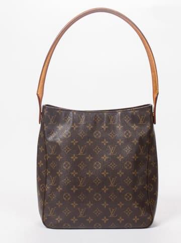 """Louis Vuitton Schultertasche """"Looping GM"""" in Braun - (B)28 x (H)32 x (T)10 cm"""
