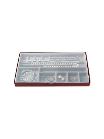 Domopak Organizer w kolorze czerwono-szarym - (S)37 x (W)3,5 x (G)21,5 cm