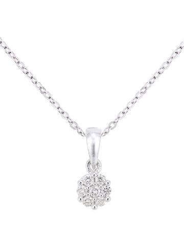 Diamant Exquis Złoty naszyjnik z diamentową zawieszką - dł. 46 cm