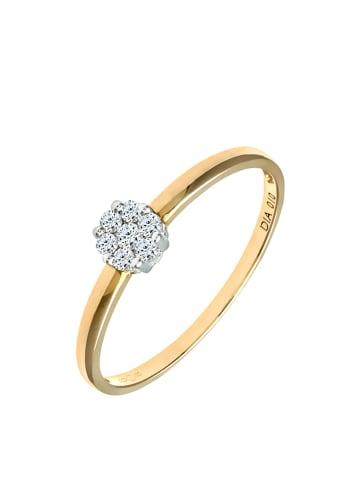Diamant Exquis Gold-Ring mit Diamanten