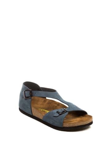 Comfortfusse Leren sandalen donkerblauw