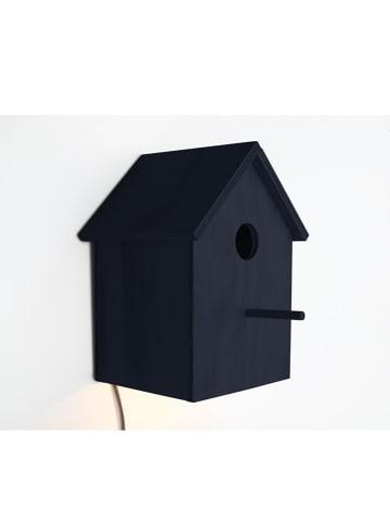 """The Wild Hug Dekoracyjna lampa LED """"Pajaro"""" w kolorze granatowym - 14 x 23 cm"""