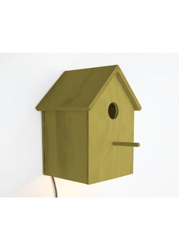 "The Wild Hug Decoratieve ledlamp ""Pajaro"" mosterdgeel - (B)14 x (H)23 cm"
