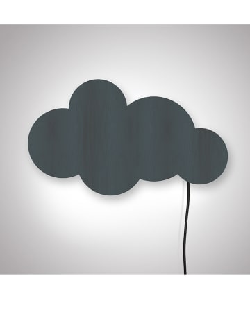 "The Wild Hug Decoratieve ledlamp ""Cloud"" donkerblauw - (B)46 x (H)35 cm"