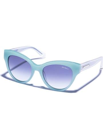 Max&Co Damen-Sonnenbrille in Türkis/ Blau